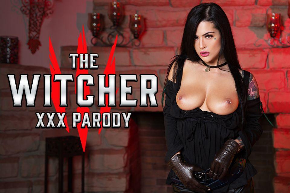The Witcher XXX Parody - Sexy Teen Katrina Jade Cosplay Porno