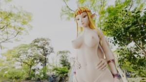 Princess Zelda Thighjob LewdVROfficial vr porn video vrporn.com virtual reality