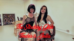The Stocking Girls, Julia And Tindra Frost, The Scottish Milf FFStockings Julia Tindra Frost vr porn video vrporn.com virtual reality