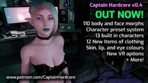 Captain Hardcore - VR Game Download AntiZero vr porn game vrporn.com virtual reality