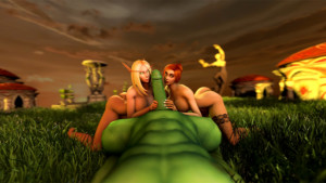 World of Warcraft - The Warchief's Really Big Hammer DarkDreams vr porn video vrporn.com virtual reality
