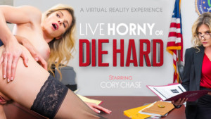 Live Horny or Die Hard VR Bangers Cory Chase vr porn video vrporn.com virtual reality