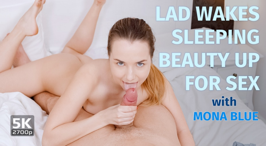 Lad Wakes Sleeping Beauty Up For Sex