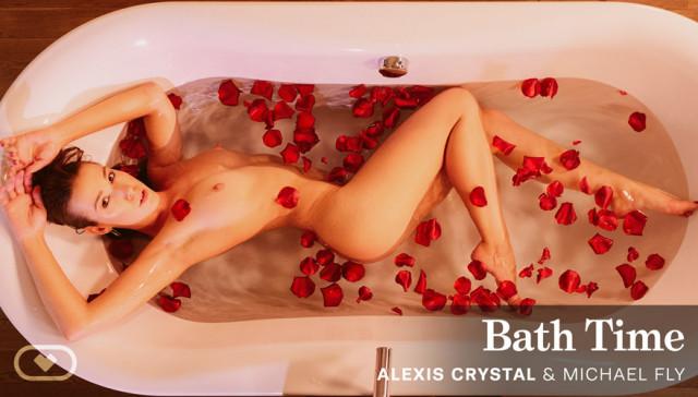 Bath Time VirtualRealPorn Alexis Crystal vr porn video vrporn.com virtual reality