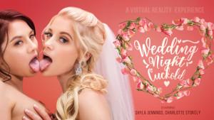 Wedding Night Cuckold VR Bangers Charlotte Stokely Shyla Jennings vr porn video vrporn.com virtual reality