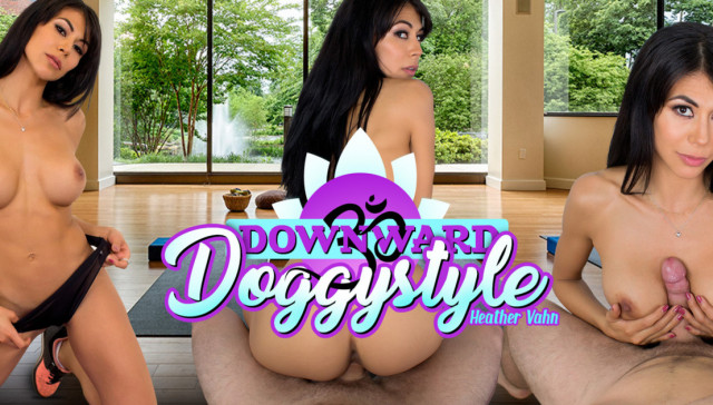 Downward Doggystyle MILFVR Heather Vahn vr porn video vrporn.com virtual reality