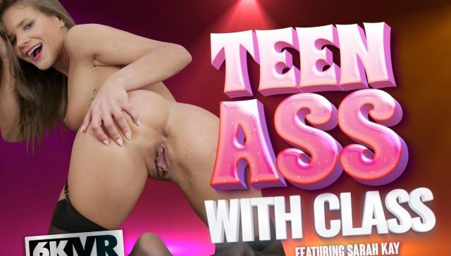 Teen Ass With Class StockingsVR Sarah Kay vr porn video vrporn.com virtual reality