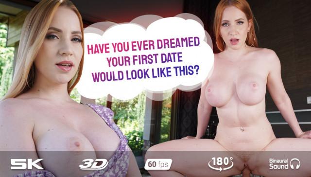 Dream First Date Kiara Lord RealJamVR vr porn video vrporn.com virtual reality