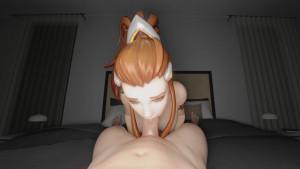 Brigitte - Blowjob RapidBananaCannon vr porn video vrporn.com virtual reality