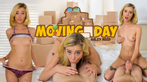 Moving Day WANKZVR Haley Reed vr porn video vrporn.com virtual reality