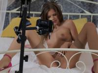 Tiny Titty Teen Tease StockingsVR Sarah Kay vr porn video vrporn.com virtual reality