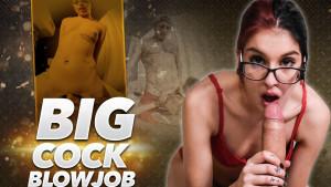 Big Cock Blowjob VRSexperince vr porn video vrporn.com virtual reality