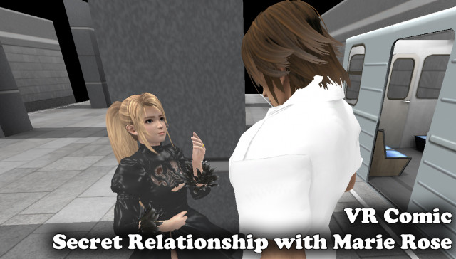 VR Comic: Secret Relationship with Marie Rose myHTML5game vr porn video vrporn.com virtual reality