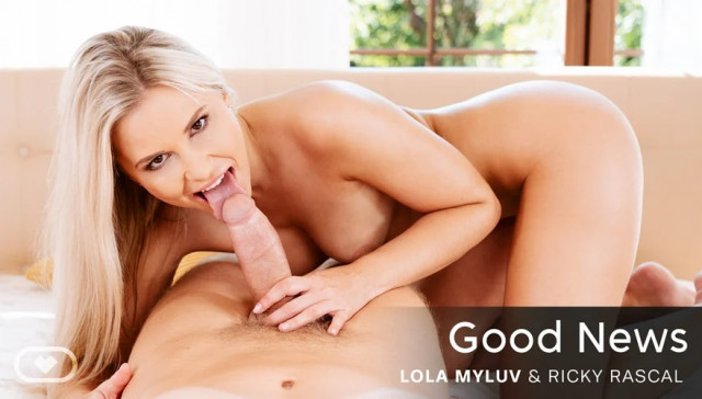 Good News VirtualRealPorn Lola Myluv vr porn video vrporn.com virtual reality