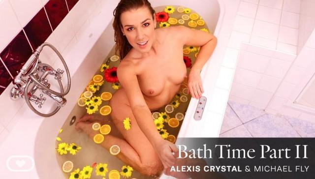Bath Time Part II VirtualRealPorn Alexis Crystal vr porn video vrporn.com virtual reality