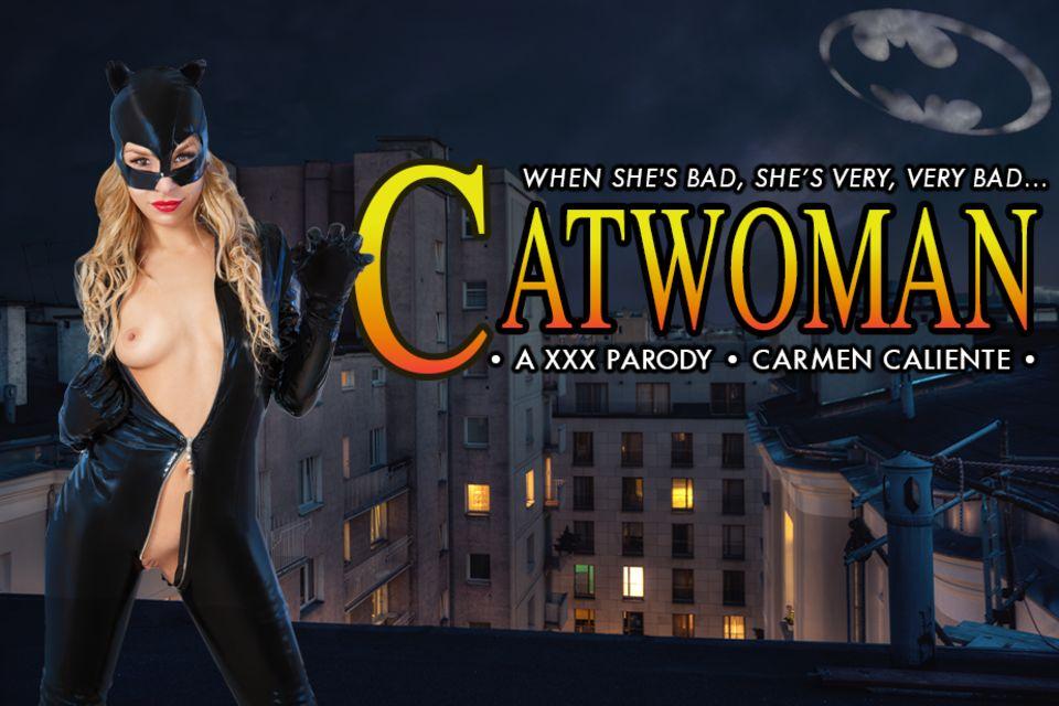 Catwoman XXX - Carmen Caliente Hardcore VR Cosplay