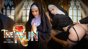 The Nun VR Bangers Kay Carter vr porn video vrporn.com virtual reality