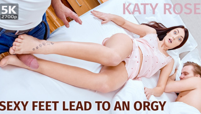 Sexy Feet Lead To An Orgy TmwVRnet Katy Rose vr porn video vrporn.com virtual reality