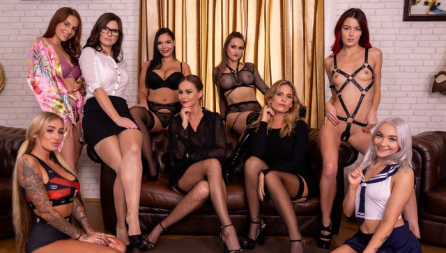 The Harlot's House Black Friday in Europe Part 2 VR Bangers Tina Kay Jenifer Jane Daisy Lee Antonia Sainz Barbara Bieber Leidy De Leon Sofia Lee Marilyn Sugar Cindy Shine vr porn video vrporn.com virtual reality