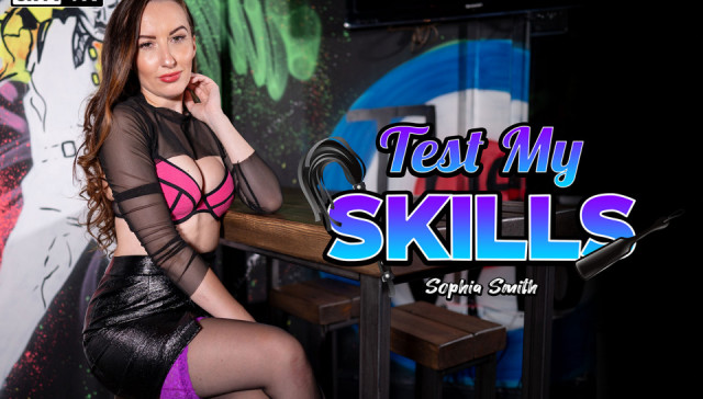 Test My Skills WankitNowVR Sophia Smith vr porn video vrporn.com virtual reality