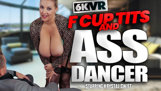 F Cup Tits and Ass Dancer StockingsVR Krystal Swift vr porn video vrporn.com virtual reality