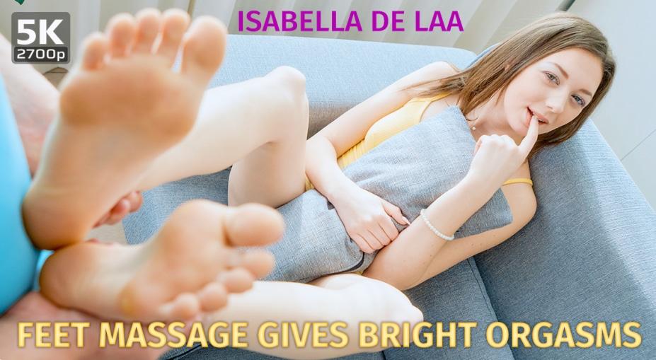 Feet Massage Gives Bright Orgasms