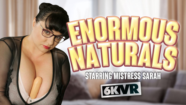 Enormous Naturals StockingsVR Mistress Sarah vr porn video vrporn.com virtual reality