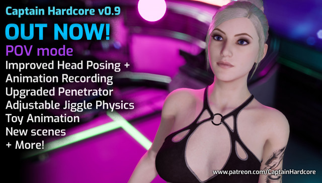 antizero captain hardcore cgi girl vr porn game vrporn.com virtual reality