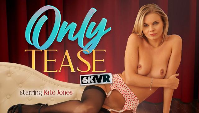 Only Tease StockingsVR Kate Jones vr porn video vrporn.com virtual reality