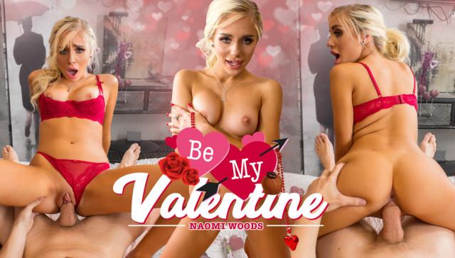 Be My Valentine Wankzvr Naomi Woods vr porn video vrporn.com virtual reality