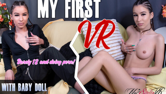 Baby Doll - My First VR No2StudioVR vr porn video vrporn.com virtual reality