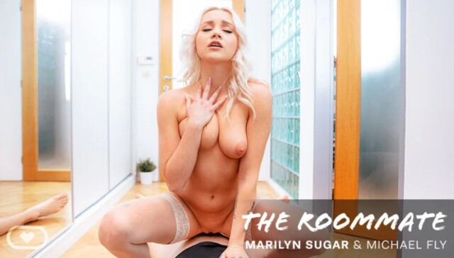 The Roommate VirtualRealPorn Marilyn Sugar vr porn video vrporn.com virtual reality