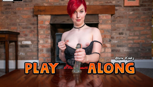 Play Along Olivia Kinks WankitNowVR vr porn video vrporn.com virtual reality