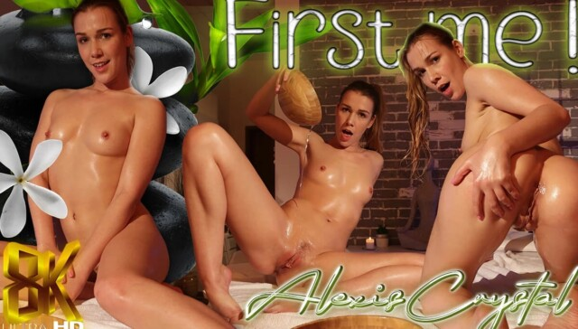 First Me Alexis Crystal Squeeze VR vr porn video vrporn.com virtual reality