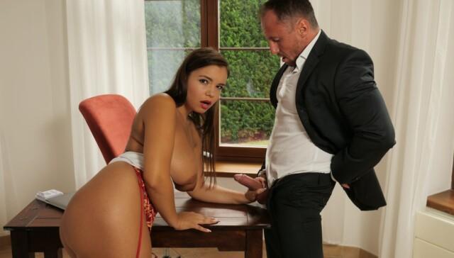 Boss Lady StockingsVR Sofia Lee vr porn video vrporn.com virtual reality