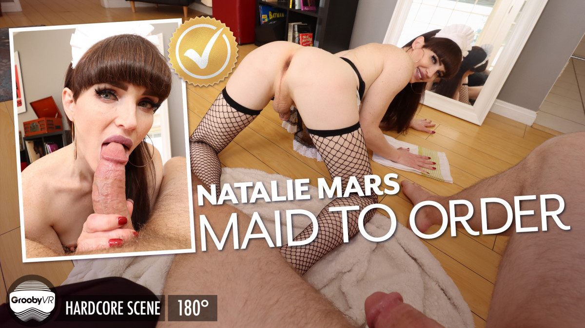 [Trans] Natalie Mars: Maid To Order!