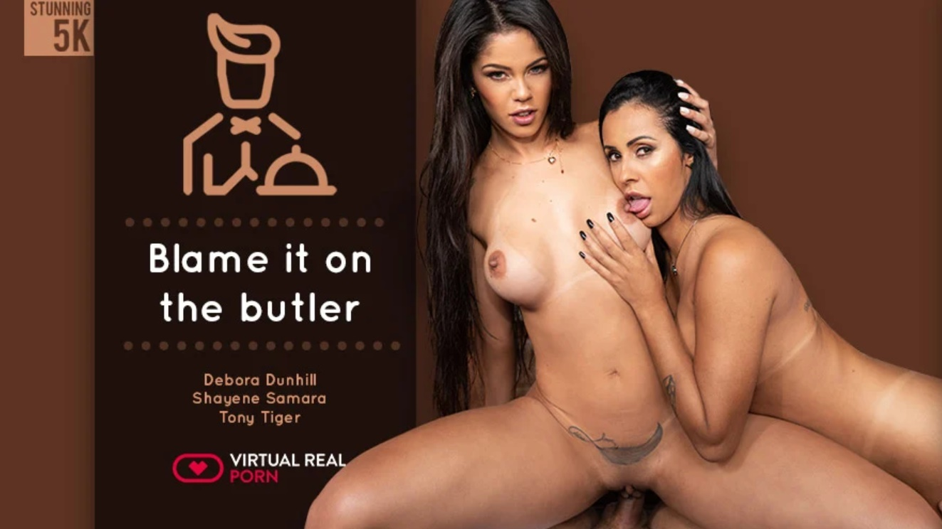 Blame It On The Butler - Passionate Threeway