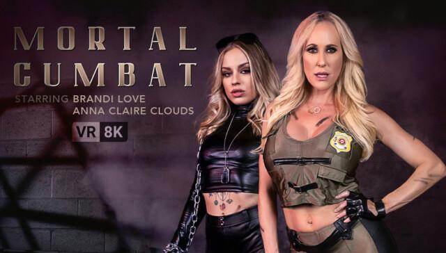 Mortal Cumbat Anna Claire Clouds Brandi Love VRConk vr porn video vrporn.com virtual reality
