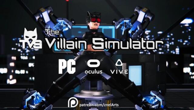 The Villain Simulator ZnelArts vr porn game vrporn.com virtual reality