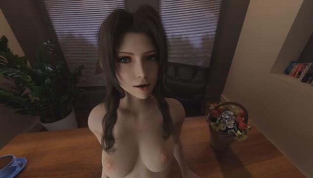 Aerith - Table Sex RapidBananaCannon vr porn video vrporn.com virtual reality