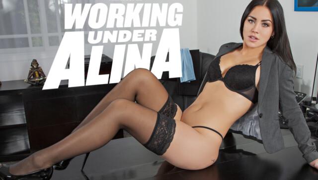 Working Under Alina BaDoinkVR Alina Lopez vr porn video vrporn.com virtual reality