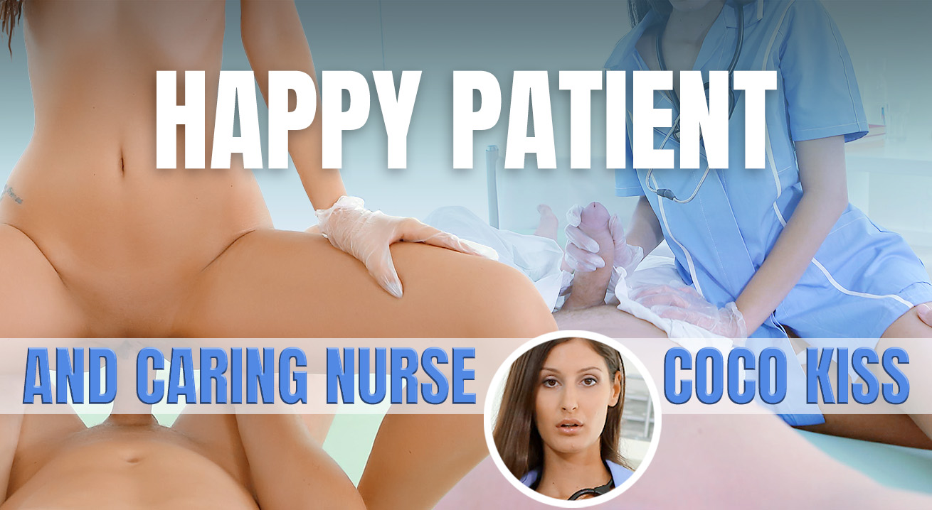 Happy Patient And Caring Nurse - Hot and Dominating Sex Treatment VR