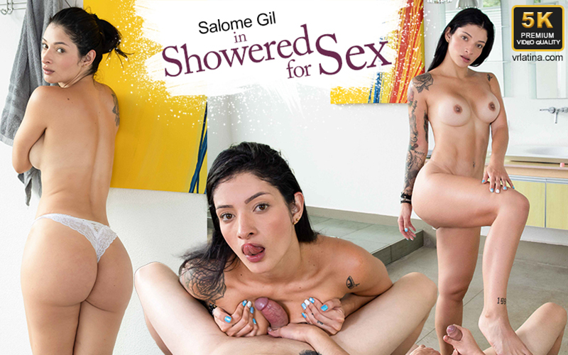 Showered For Sex