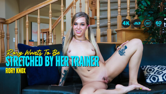 Rory Wants To Be Stretched By Her Trainer Rory Knox LethalHardcoreVR vr porn video