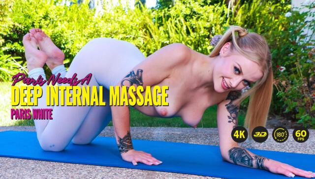 Paris Needs A Deep Internal Massage Paris White LethalHardcoreVR vr porn video