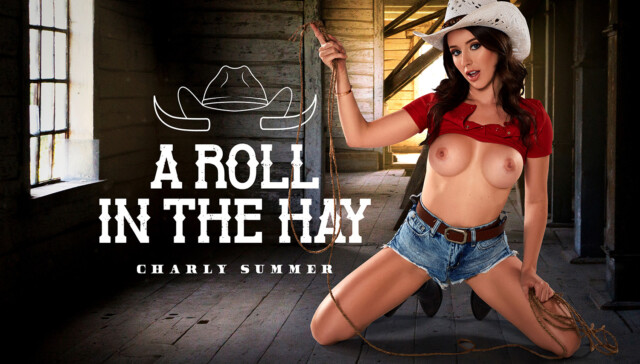 A Roll In The Hay BaDoinkVR Charly Summer vr porn video vrporn.com virtual reality