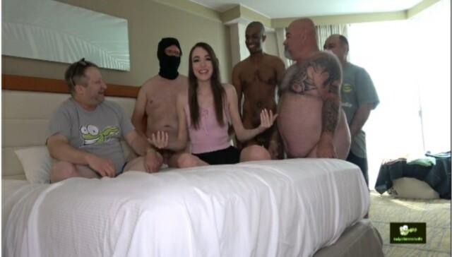 Brooke's 1st Ever Gangbang Brooke Johnson TadPoleXXXStudio vr porn video