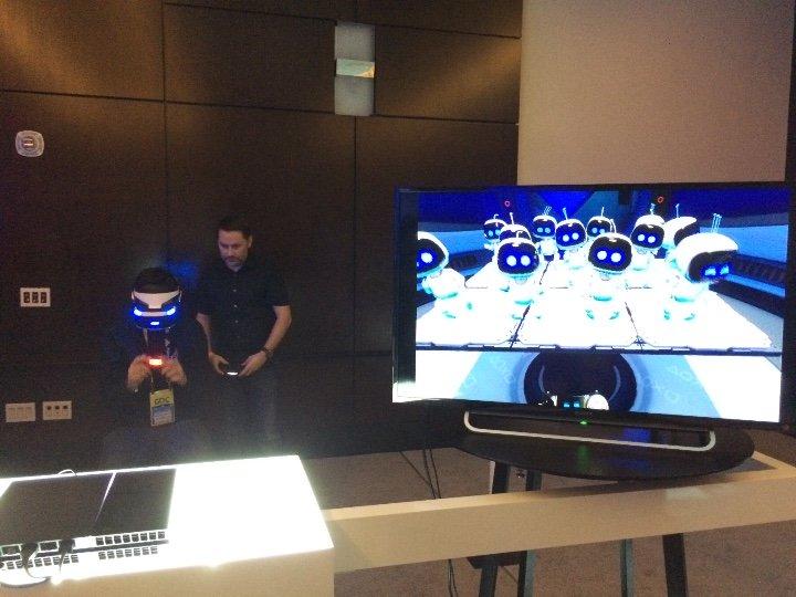 GDC 2015 Sony Morpheus Game (image credit: RoadtoVR)