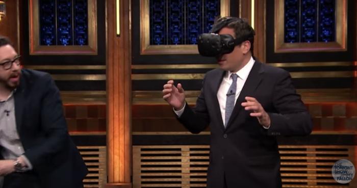 Jimmy Fallon Gets Blown Away by Virtual Reality VR Porn Blog virtual reality